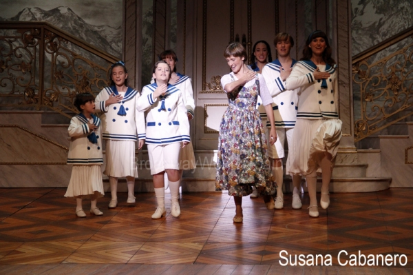 Silvia Luchetti y los niños Von Trapp
