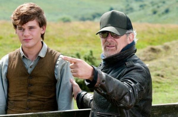 Jeremy Irvine, Stephen Spielberg