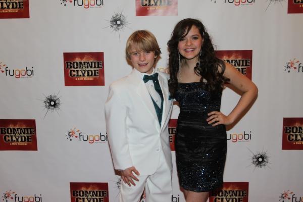 Talon Ackerman and Kelsey Fowler