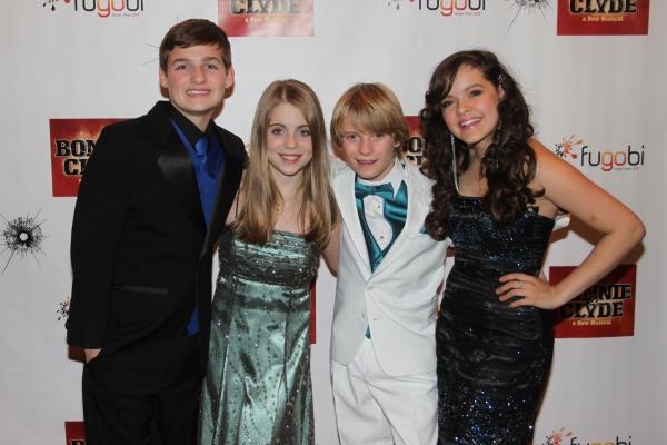 Jack Tartaglia, Rozi Baker, Talon Ackerman and Kelsey Fowler Photo