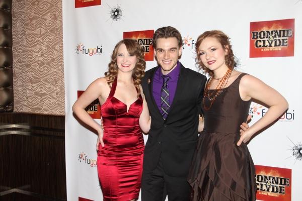 Cassie Okenka, Justin Matthew Sargent and Katie Klaus