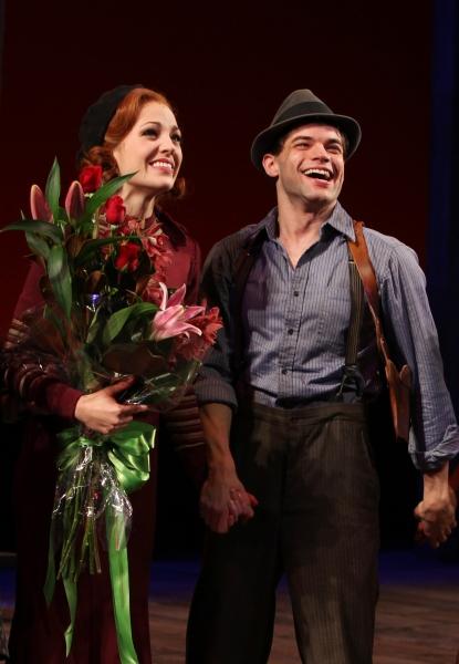 Laura Osnes & Jeremy Jordan