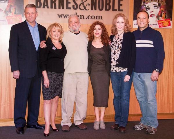 Photo Coverage: Stephen Sondheim, Bernadette Peters & Stars of FOLLIES Celebrate Cast Album Release at B&N
