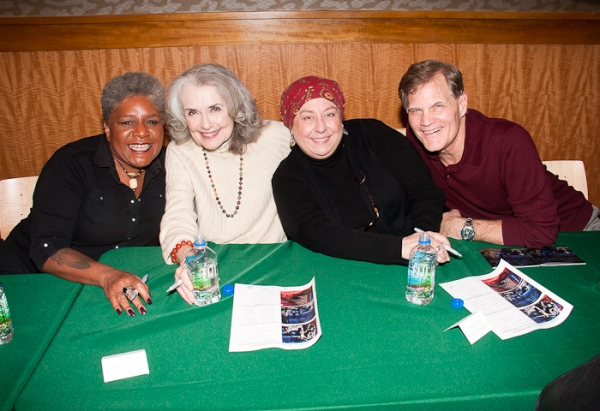Photo Coverage: Stephen Sondheim, Bernadette Peters & Stars of FOLLIES Celebrate Cast Album Release at B&N
