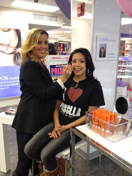 Photo Flash: PRISCILLA Cast Celebrates PRISCILLA-Inspired Makeup Line!