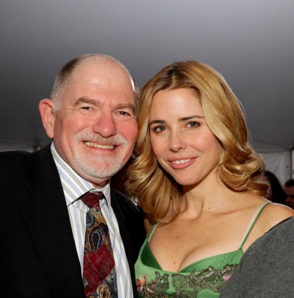Kerry Butler and Jarrod Spector with Michael Pollack