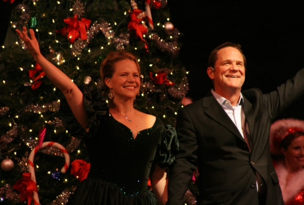 Sarah Pfisterer and Rick Hilsabeck at CHRISTMAS TIME Opens at Reagle Music Theatre Dec. 3