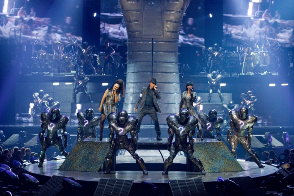 Photo Flash: Cirque du Soleil's Michael Jackson THE IMMORTAL World Tour Opens in Las Vegas!