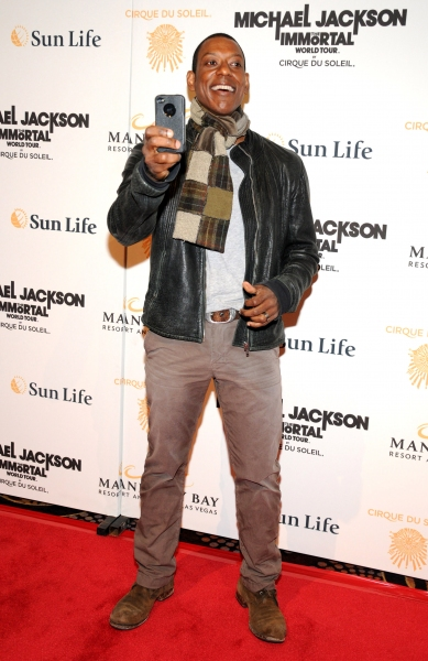 Orlando Jones at Michael Jackson THE IMMORTAL World Tour - Red Carpet!