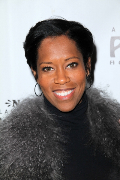 Regina King at Molly Ringwald, Regina King, et al. at WICKED's LA Opening!
