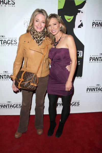 Deidre Hall and Sarah Brown at Molly Ringwald, Regina King, et al. at WICKED's LA Opening!