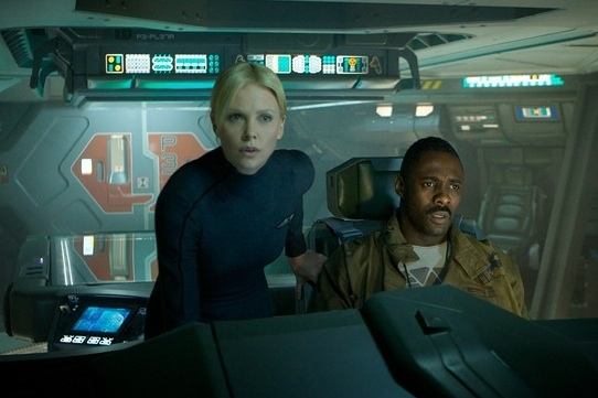 Charlize Theron & Idris Elba at First Look - Ridley Scott's PROMETHEUS Coming June 2012