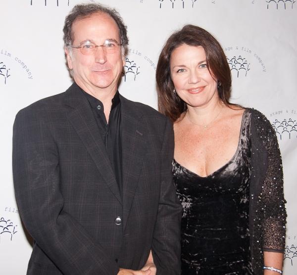 Mark Linn-Baker and Adrianne Lobel