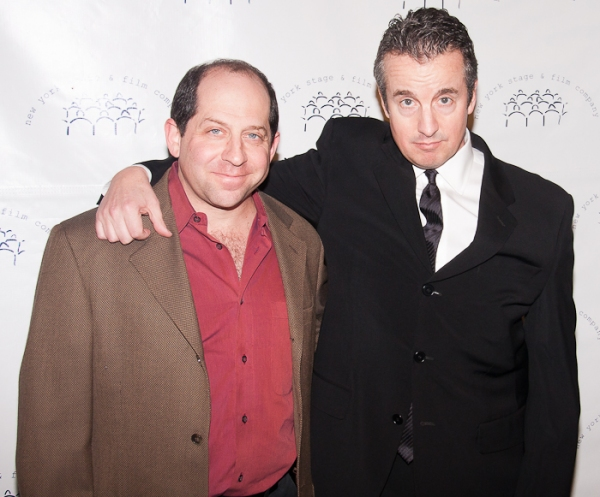 Jason Kravits and Grant Shaud