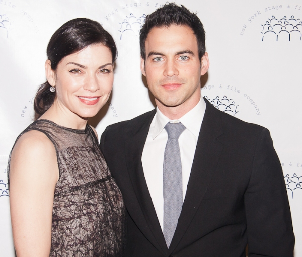 Julianna Margulies and Keith Lieberthal