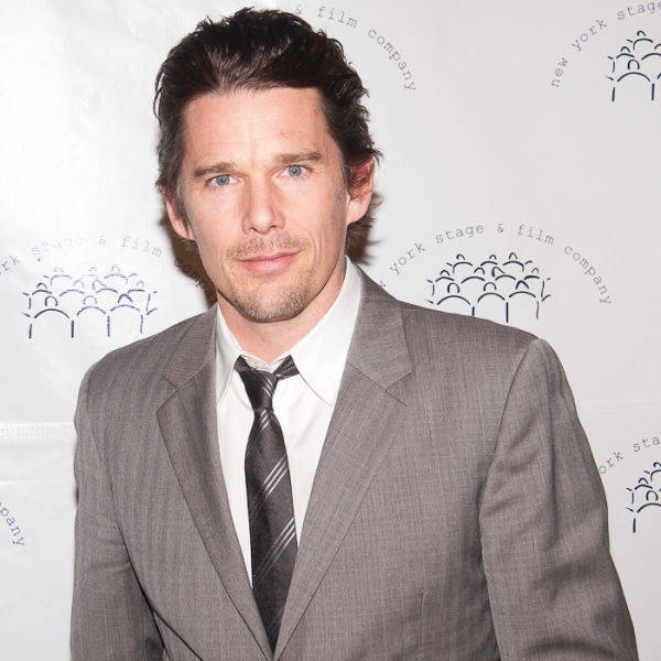 Ethan Hawke at Jon Hamm, Mario Cantone, et al. Attend NY Stage and Film Gala