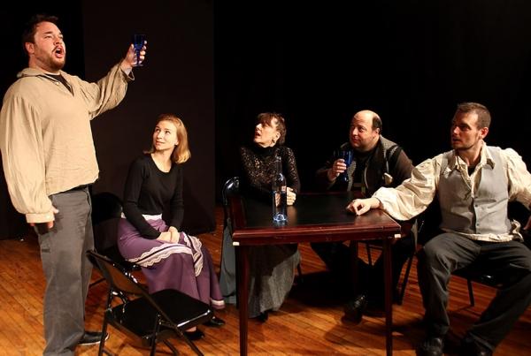 Benny Elledge, Natalie Arneson, Meghan Duffy, Allan Greenberg, Tom Lacey Photo