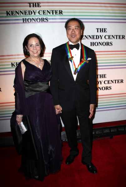 Yo-Yo Ma with Wife Jill Hornor