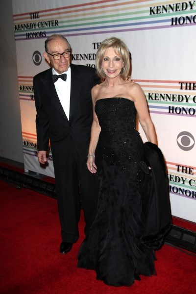 Alan Greenspan & Andrea Mitchell at Distinguished Guests & Broadway's Best at The Kennedy Center Honors!