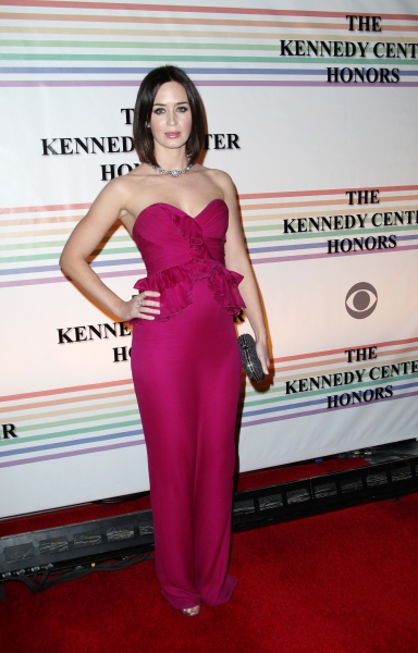 Emily Blunt  at Distinguished Guests & Broadway's Best at The Kennedy Center Honors!
