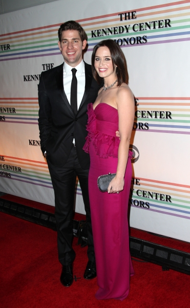 John Krasinski & Emily Blunt at Distinguished Guests & Broadway's Best at The Kennedy Center Honors!