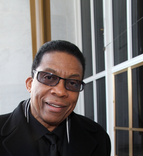 Herbie Hancock  at Inside Rehearsal for the Kennedy Center Honors!