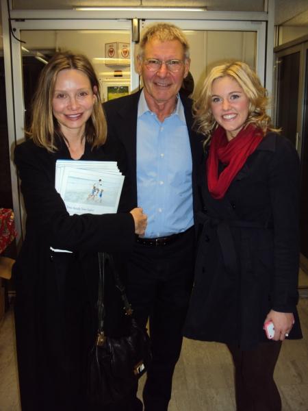 Calista Flockhart, Harrison Ford, Taylor Louderman