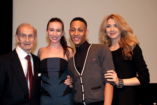 Photo Coverage: Nina Arianda & More Honor RENT's MJ Rodriguez with 2011 Clive Barnes Award