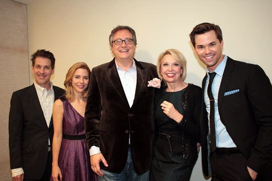 Photo Coverage: Kerry Butler, Andrew Rannells & More Honor Douglas Carter Bean and Lewis Flinn at Transport Group's GIMME A BREAK! Benefit