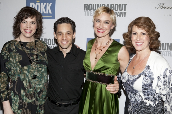Jane Brockman, Jeffrey Schecter, Rachel de Benedet and Rebecca Eichenberger at Jane Krakowski, Kelli O'Hara, Gavin Creel & More in Roundabout's SHE LOVES ME Benefit!