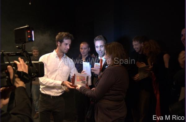Sergio Sansegundo, Gonzalo Lisiardi, Javi Fernandez y Adriana Suarez