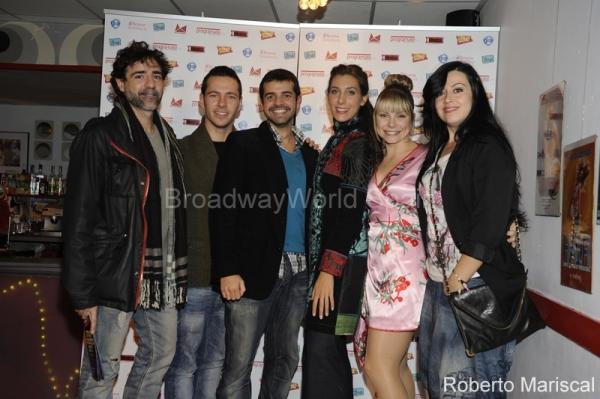Javier Navares, Miguel Antelo, Mariola Pena, Laura Castrillon y Ines Leon