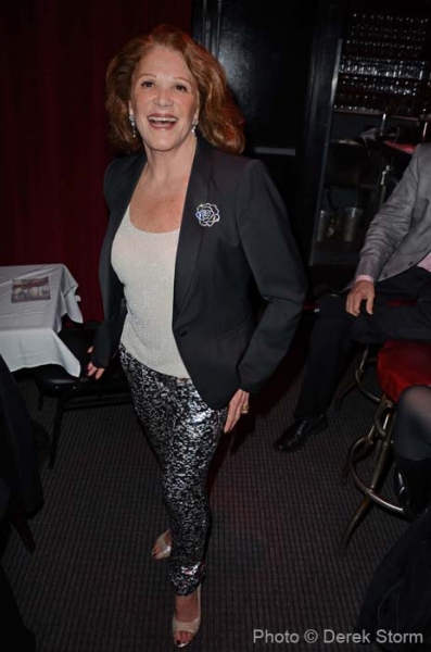 Photo Flash: Linda Lavin Celebrates CD Release at Birdland