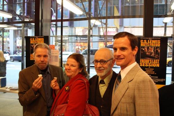 Standby Tuck Milligan, Producer Carolyn Rossi Copeland, Martin Rayner, Mark H. Dold  Photo