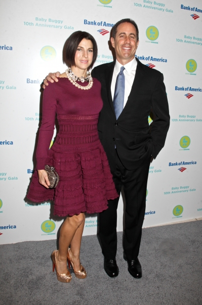 Jessica Seinfeld and Jerry Seinfeld