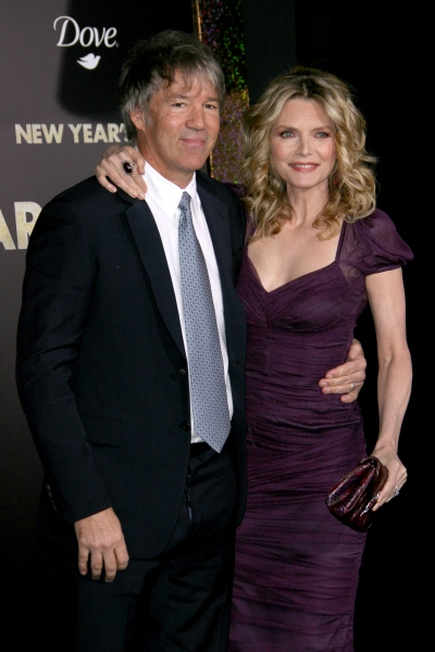 David E. Kelley and Michelle Pfeiffer at NEW YEAR'S EVE Premieres in LA