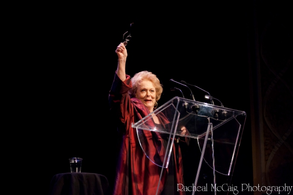 "Shirley Douglas reads from ""My Love is Like a Red, Red Rose"""