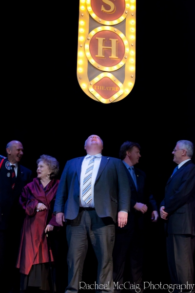 Mayor Rob Ford and the new Ed Mirvish Marquee