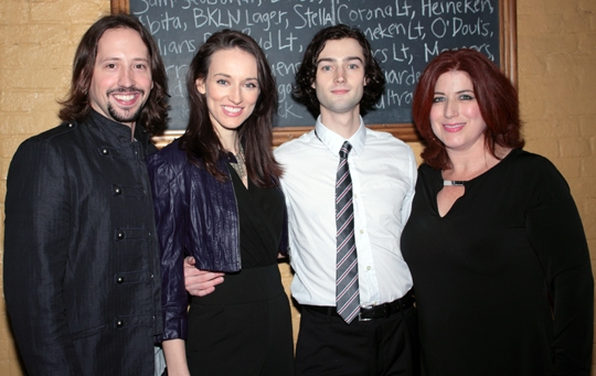 Photo Coverage: Broadway-Bound ONCE Opens at New York Theatre Workshop!
