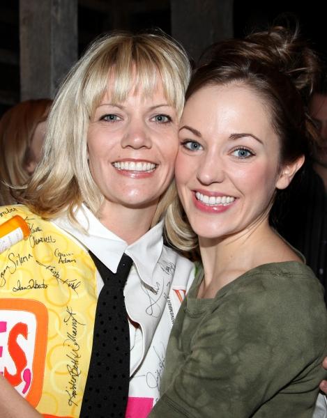 'Follies' Recepient Jennifer Foote & Laura Osnes