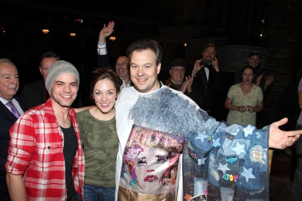 'Bonnie & Clyde' Gypsy Recepient Tad Wilson with Jeremy Jordan, Laura Osnes & Company
