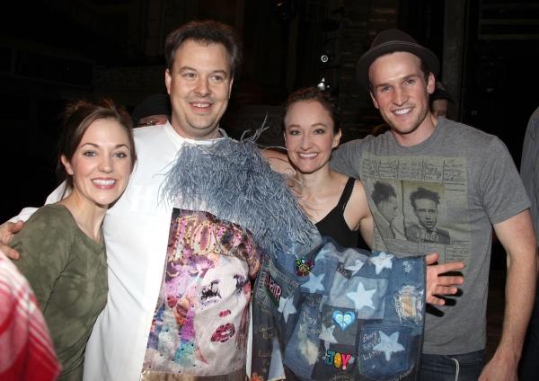 'Bonnie & Clyde' Gypsy Recepient Tad Wilson with Laura Osnes, Melissa Van Der Schyff, Claybourne Elder & Company