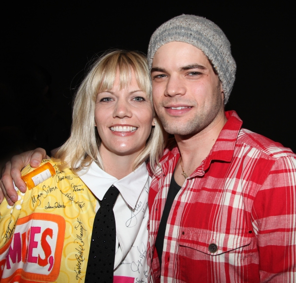 'Follies' Recepient Jennifer Foote & Jeremy Jordan