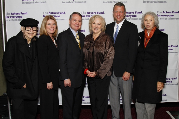 Dale Olson, Meg Thomas, John Holly, Betty Buckley, Keith McNutt & Barbara Allyne Bennet