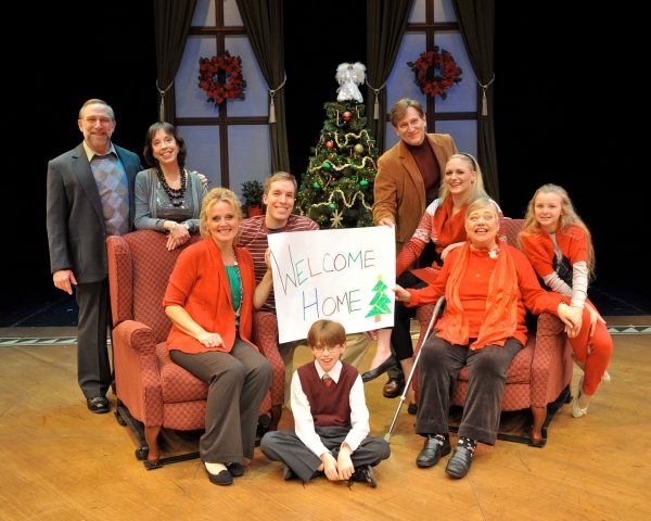 Stephen Berger, Sandy Rosenberg, Ann Van Cleave, Peter Carrier, Charlie Storck, David Edwards, Haley Swindal, Mary Stout and Hannah Dieck at Home For The Holidays at WBT