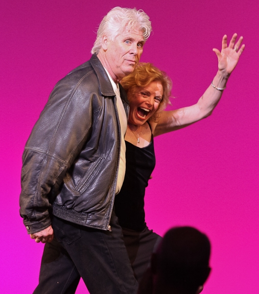 Barry Bostwick and Carole Demas