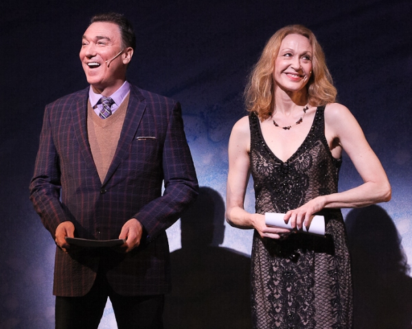 Patrick Page and Jan Maxwell