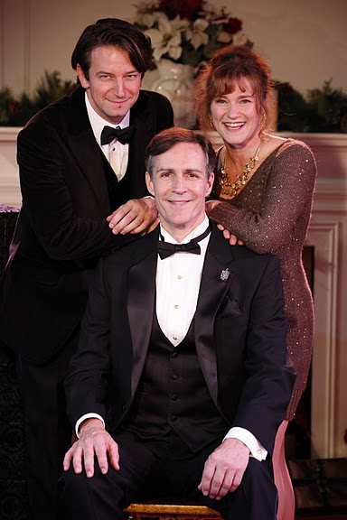 Edwin Cahill, Howard McGillin (seated) and Beverly Ward