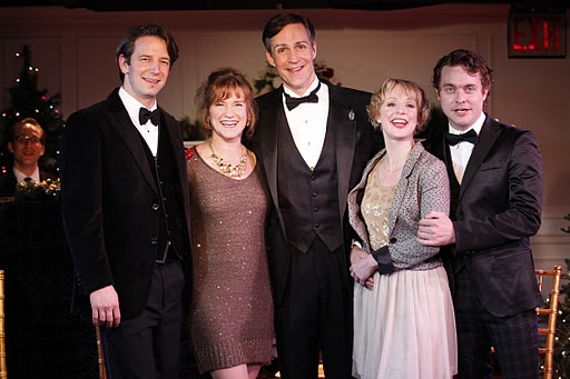 Edwin Cahill, Beverly Ward, Howard McGillin, Danielle Erin Rhodes, and Ashley Robinson at A CHILD'S CHRISTMAS IN WALES In Concert