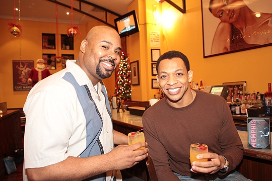 Photo Coverage: Adam Pascal, Montego Glover & MEMPHIS Stars Introduce Memphis-Inspired Cocktail at B. Smith's